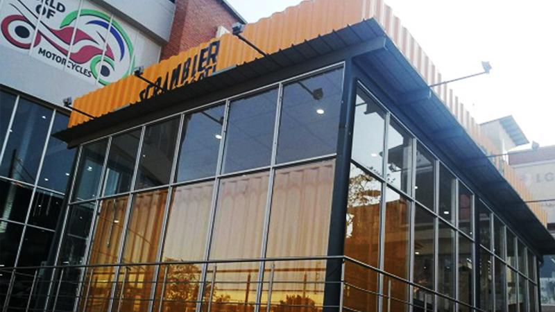 Shipping Container Conversion Shopfront