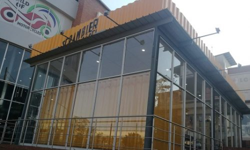 Shipping containers can be practical and pretty