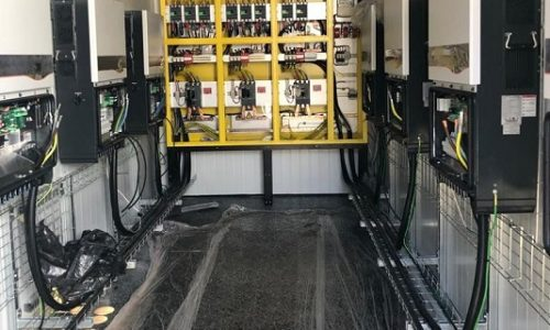 Factory-built e-house to reduce time on site