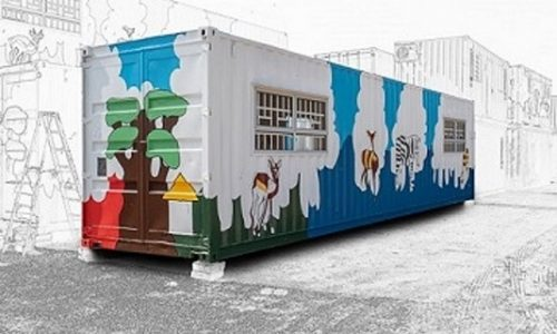 12m shipping container conversion for ECD Classroom