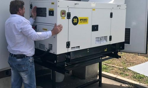 Generator + Solar for completely off-grid solution