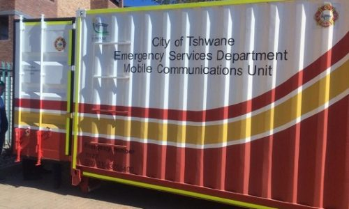 Mobile communications 6m shipping container