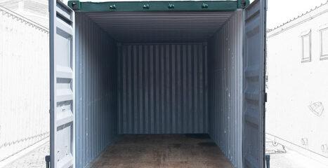 Storage Container Rental - Interior