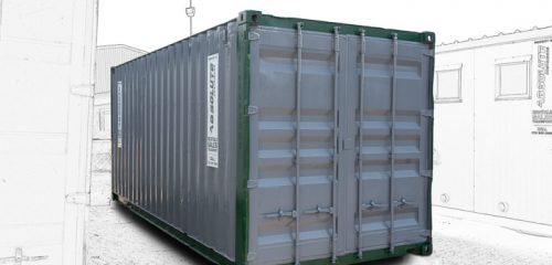 Storage Container Rental - Exterior