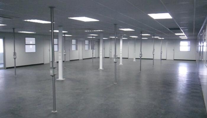 Inside Modular Building