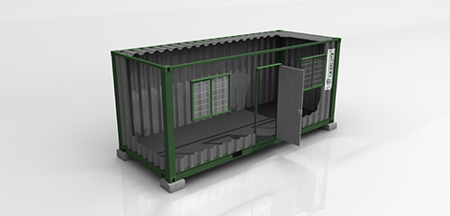 Basic Shipping Container For Rent