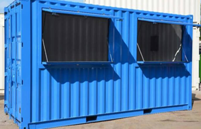 Spaza Unit Container Solutions Exterior