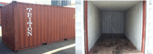 B – Grade Shipping Containers