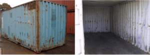 """C - Grade Containers (Used Shipping Containers, """"Sold as is""""."""